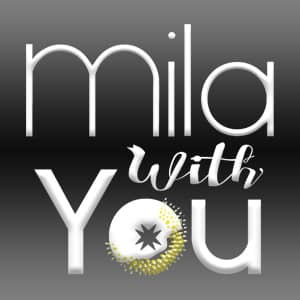 Logo Mila with You - Vente de bijoux en ligne