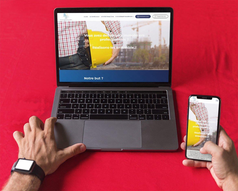 Création de site internet entreprise batiment en Baie de Somme