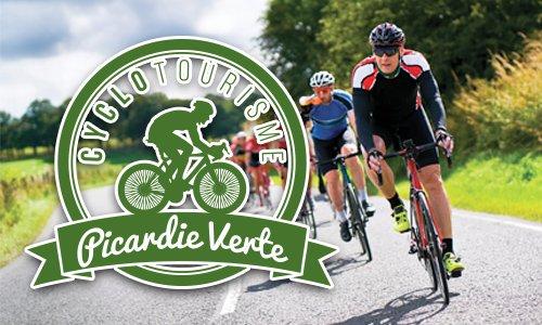 Présentation du logo cyclo tourisme picardie verte