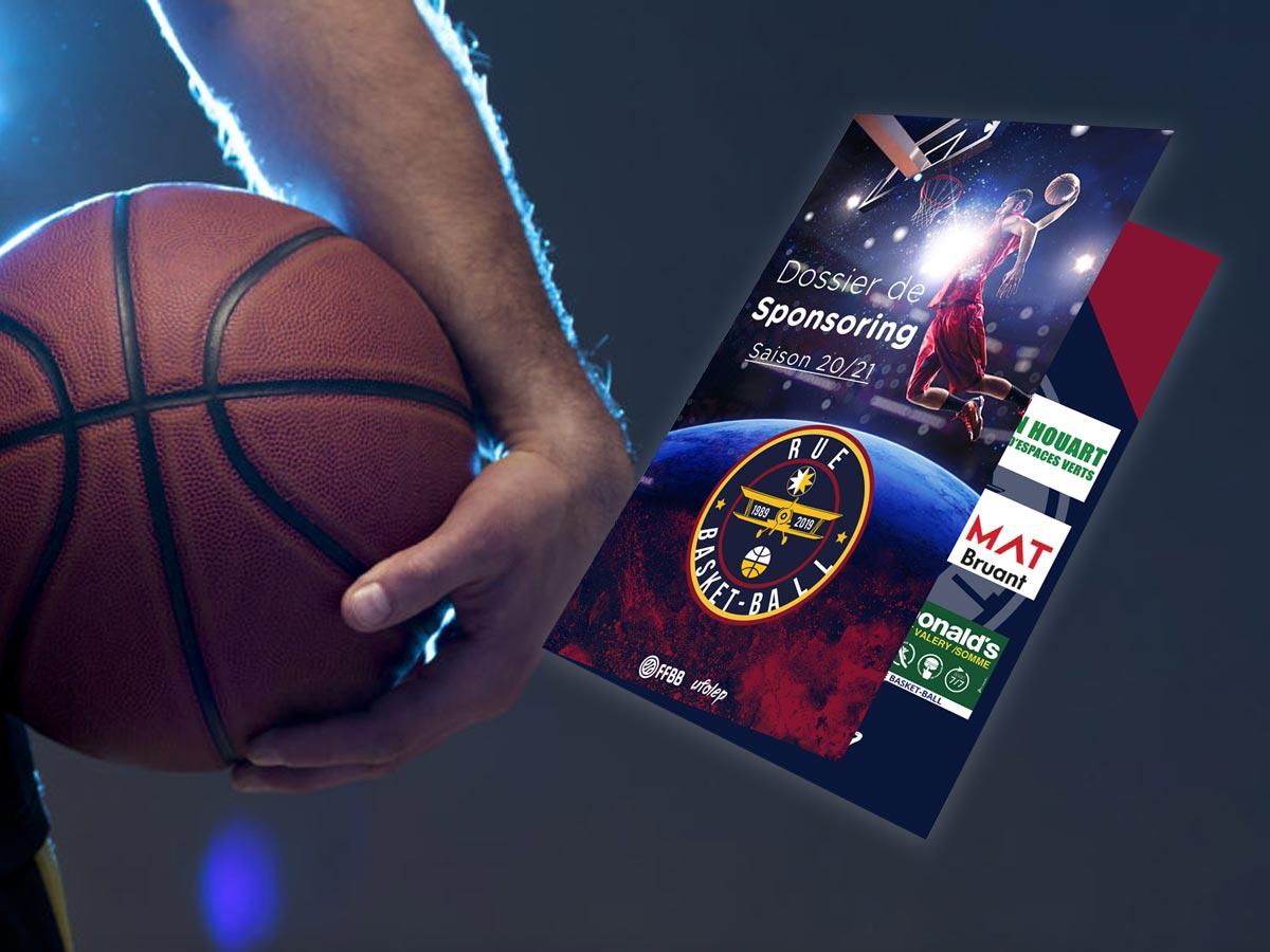Dossier de sponsoring pour un club de basket en Picardie