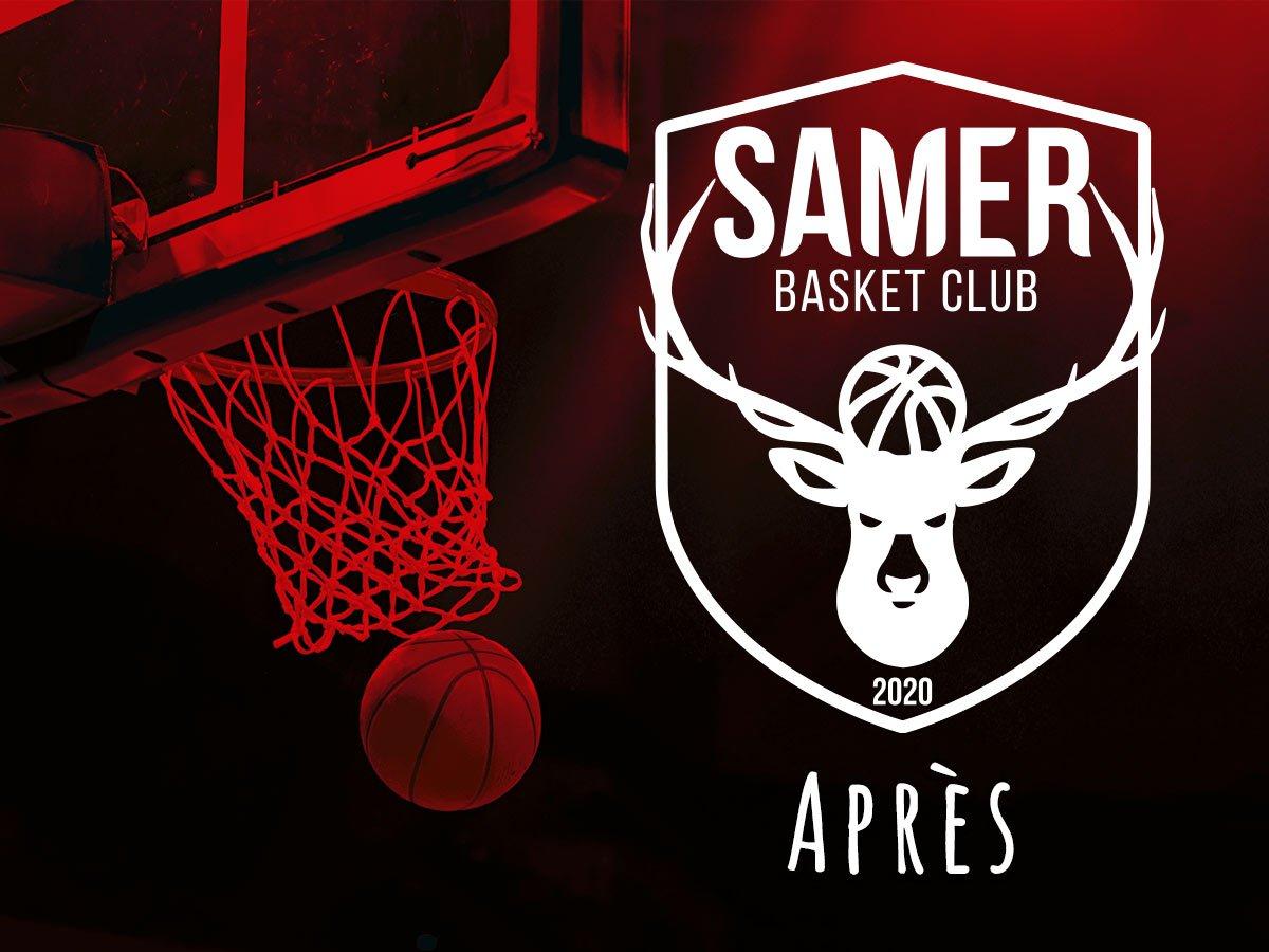 Présentation du nouveau logo de Samer Basket Club réalisé en 2020