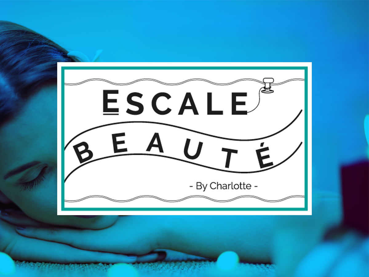 """Présentation du logo de l'institut de beauté """"L'Escale Beauté"""" au Crotoy"""