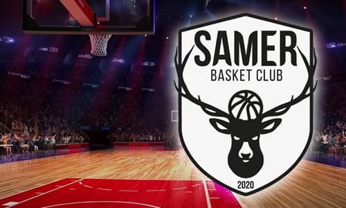 Logo du club de Basket de SAMER dans le Pas-de-Calais