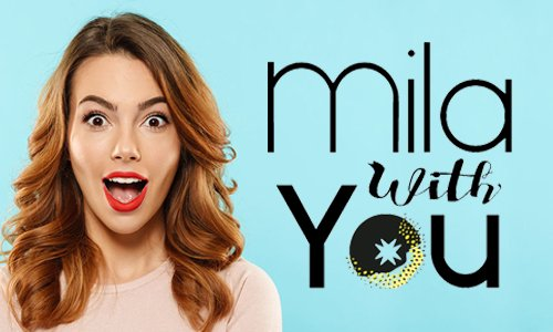 Logo Mila With You