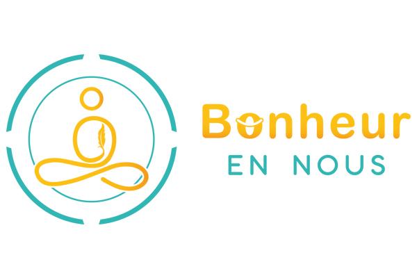 """Logo vectorisé de """"Bonheur en nous"""" - Coach de vie"""